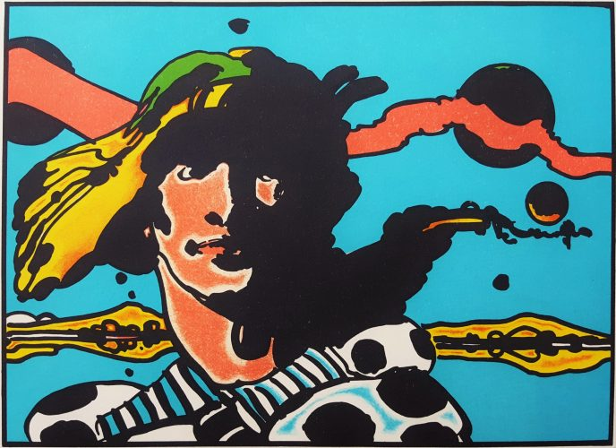 Prince Caspian from Narnia by Peter Max at