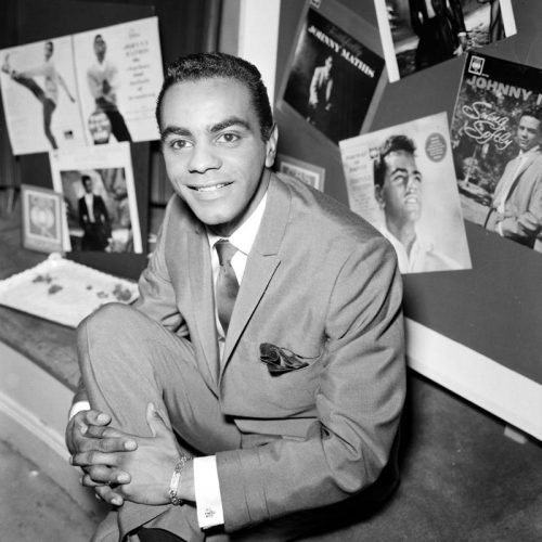 'Johnny Mathis' 1958 Harry Hammond Print by Harry Hammond at
