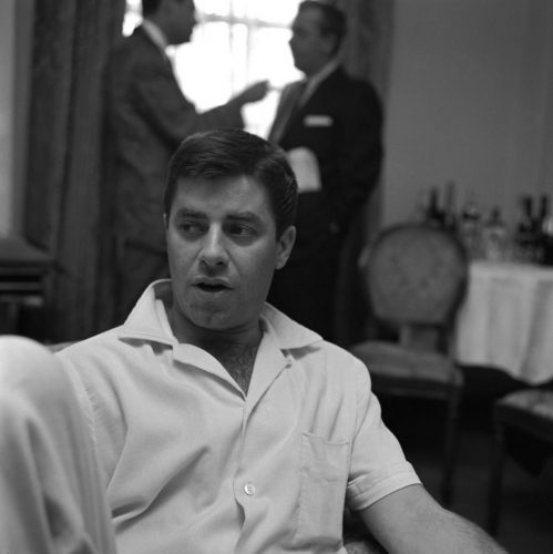 'Jerry Lewis' 1958 Harry Hammond Print by Harry Hammond at