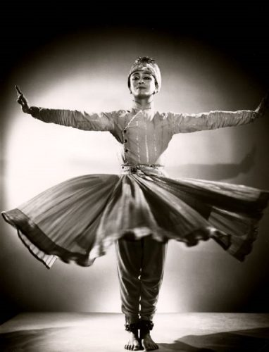 'Indian Classical Dancer' 1956 Houston Rogers Print by Houston Rogers at