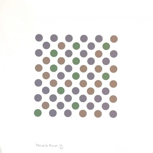 Measure to Measure by Bridget Riley at