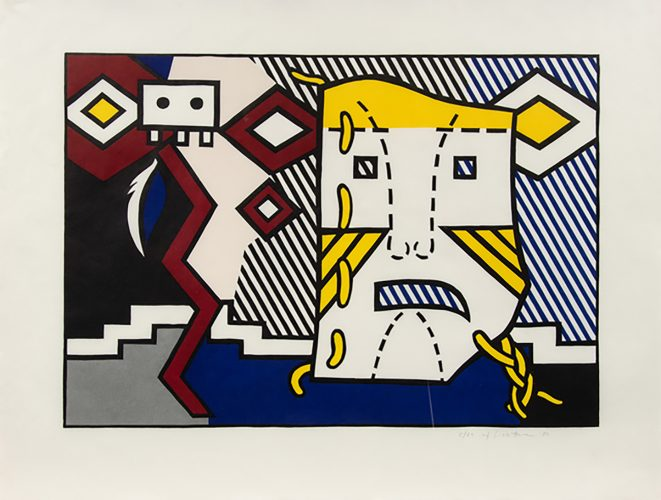 American Indian Theme V (from American Indian Theme Series) by Roy Lichtenstein at