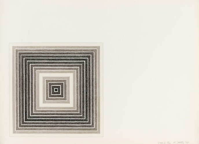 Sharpesville, from Multicolored Squares (A. 79A) by Frank Stella at