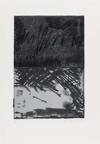 Untitled Press #3 (Lewison 21.3) by Brice Marden at