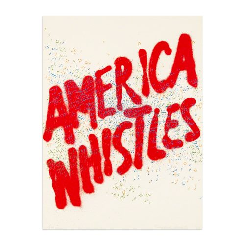 America Whistles by Ed Ruscha at Ed Ruscha