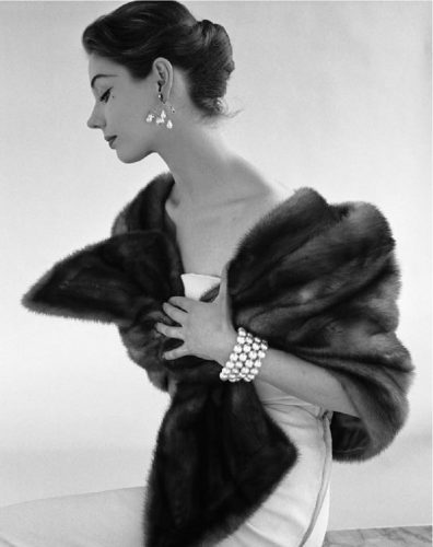 'Fur Stole' 1955 John French Print by John French at