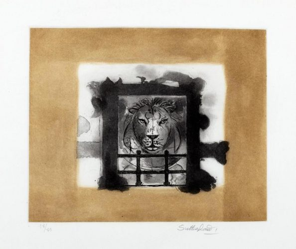 The Lion by Graham Sutherland at