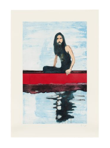 100 years ago by Peter Doig at