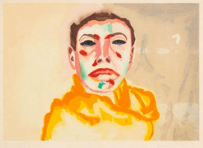 I (Met.pg., 50) by Francesco Clemente at
