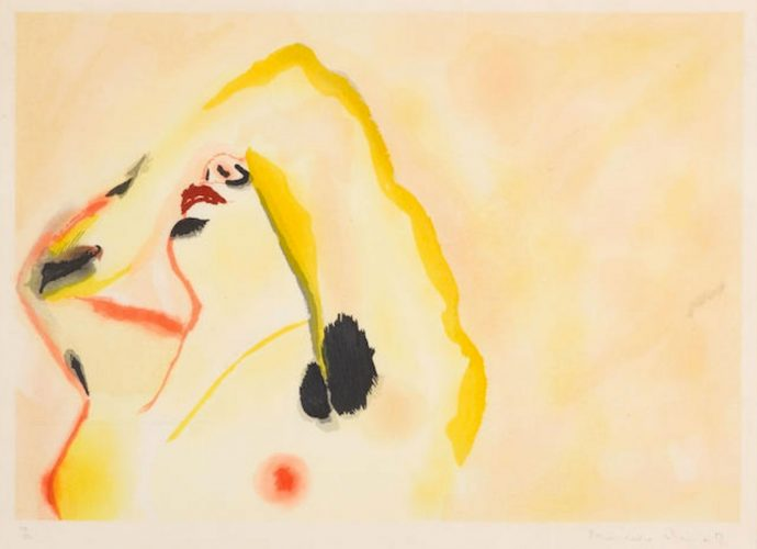 Morning (Met.pg., 48) by Francesco Clemente at