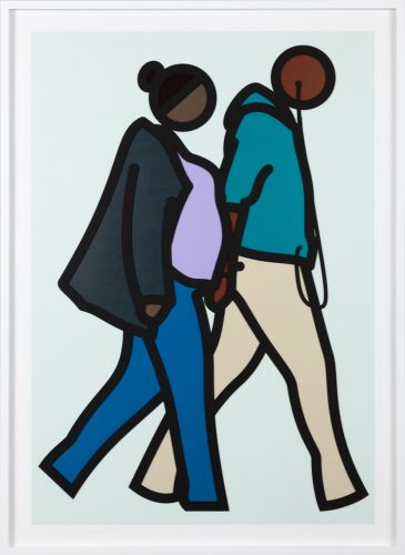 New York Couple 6. by Julian Opie at