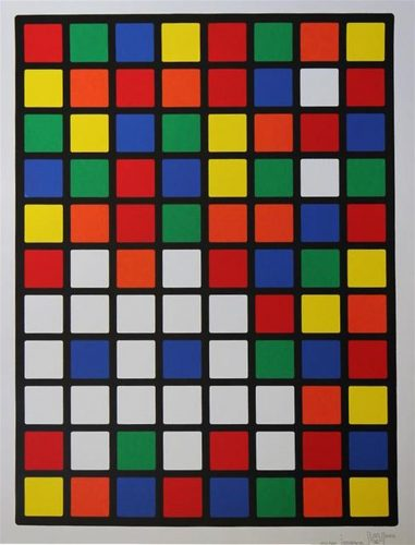 Rubik Space by Invader at