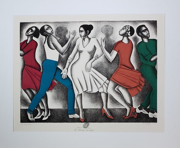 Dancing by Elizabeth Catlett at G. W. Einstein Company