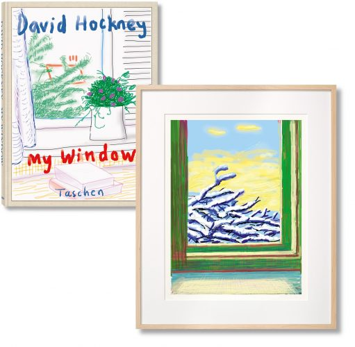 David Hockney, My Window. Art Edition (No. 501–750), iPad drawing 'No. 610', 23rd December 2010, 2019