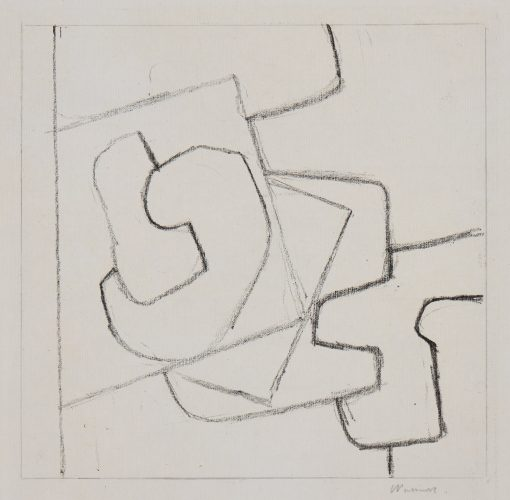 Linear Motif by Victor Pasmore at