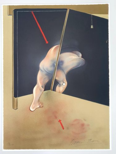 Study for a Human Body by Francis Bacon at