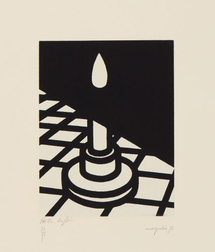 Candle by Patrick Caulfield at Patrick Caulfield