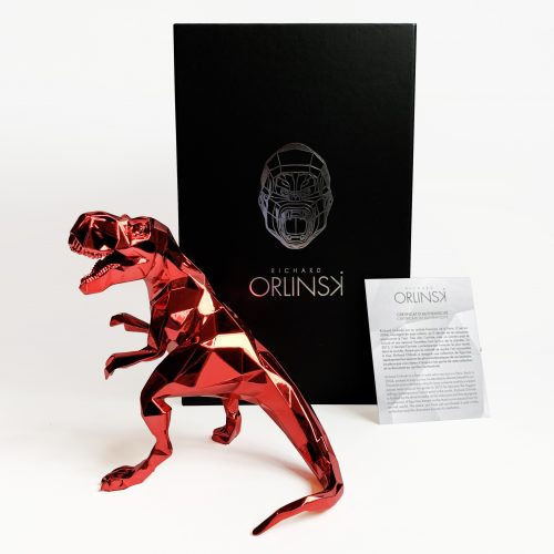 T-Rex Spirit (Red Edition) by Richard Orlinski at Richard Orlinski