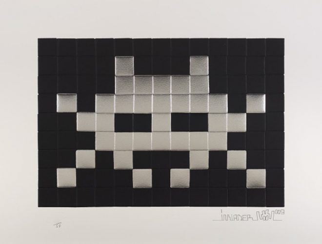 Invasion (Silver) by Invader at