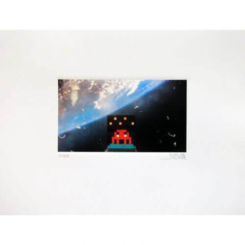 Art4Space by Invader at