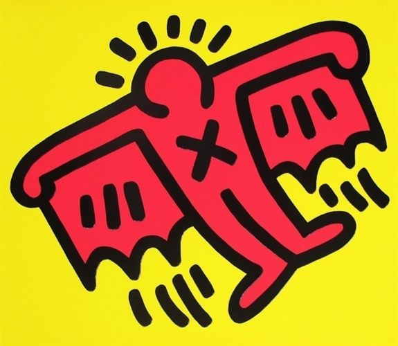 Untitled (X Man) by Keith Haring at