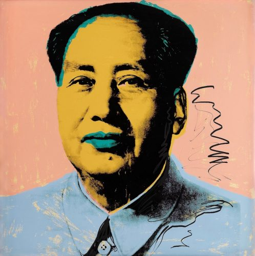 Mao #92 by Andy Warhol at Andy Warhol