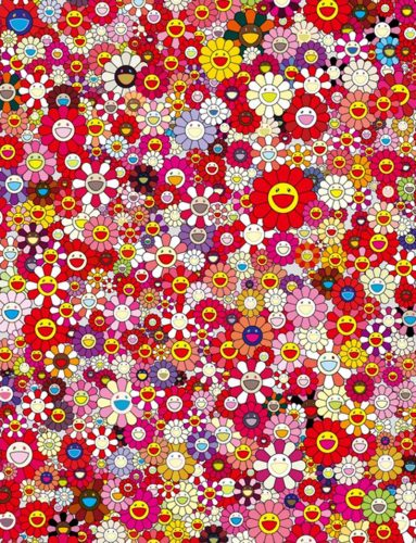 An Homage to Monopink, 1960 E by Takashi Murakami at