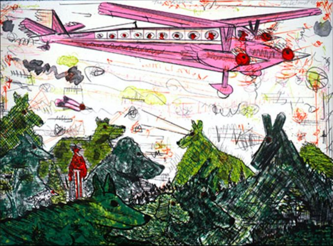 The Airplane by Roy Deforest at