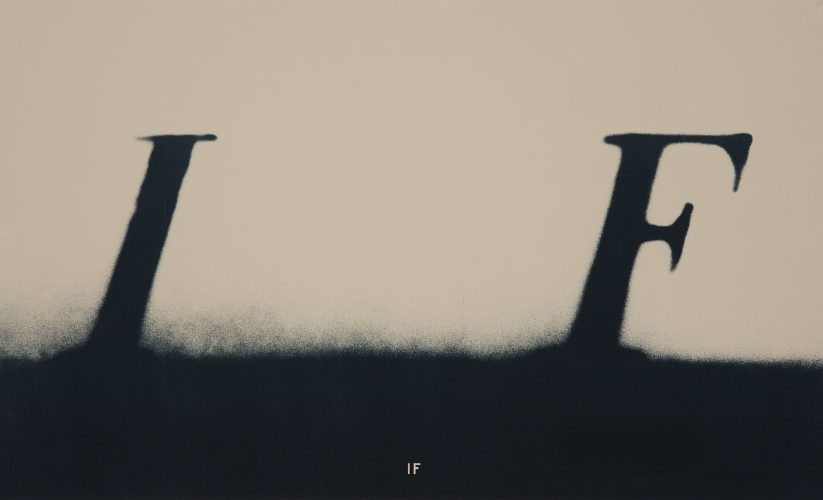 If by Ed Ruscha at