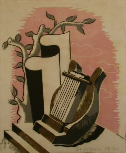 Lyre by Ronald Grierson at