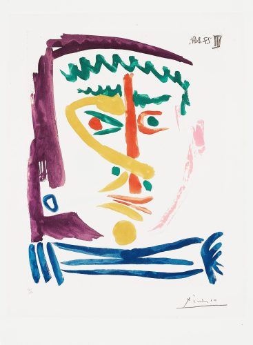 Fumeur iii by Pablo Picasso at