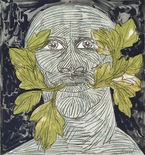 Green Man by Elisabeth Frink at