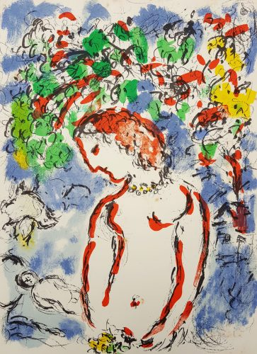 Jour de Printemps (Spring Day) by Marc Chagall at