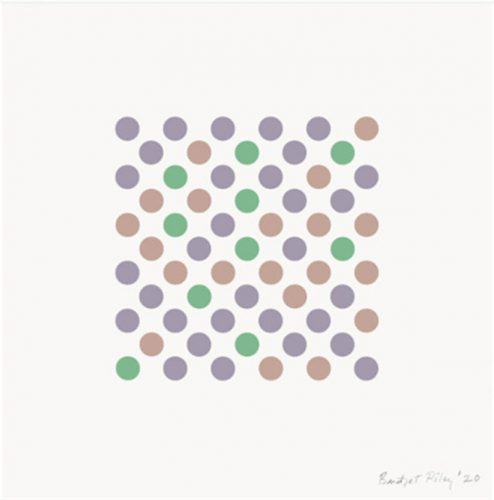 Measure for Measure by Bridget Riley at Lougher Contemporary