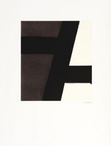Serigraphie, no. 21, 1994 by Pierre Soulages at K Contemporary Ltd.
