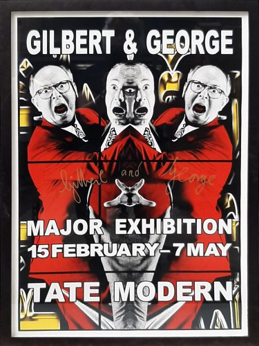 Gilbert and George Major Exhibition, Tate Modern 1 by Gilbert & George at