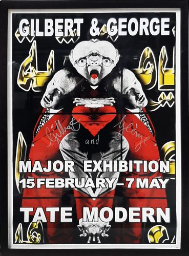 Gilbert and George Major Exhibition, Tate Modern 2 by Gilbert & George at