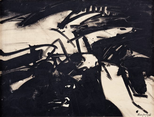 Composition, 1964 by Andre Marfaing at K Contemporary Ltd.