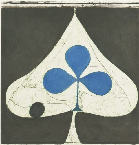 Blue Club by Richard Diebenkorn at G. W. Einstein Company