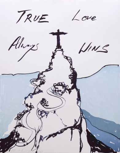 True Love Always Wins. by Tracey Emin at