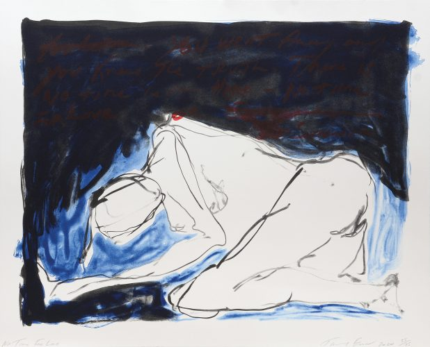 No Time For Love. by Tracey Emin at