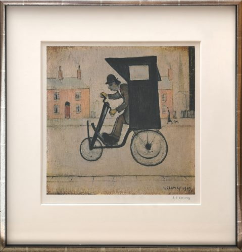 The Contraption. by L S Lowry at