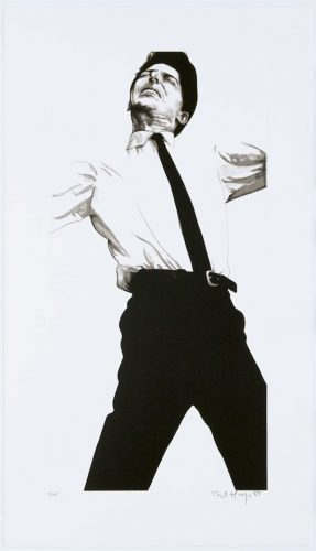 Jules by Robert Longo at