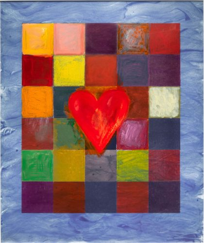 The Sea Behind by Jim Dine at