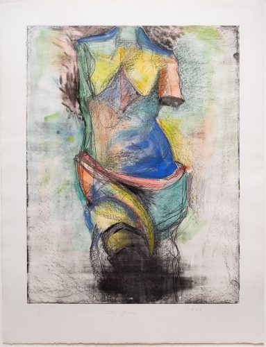 The French Watercolor Venus by Jim Dine at Leslie Sacks Gallery (IFPDA)