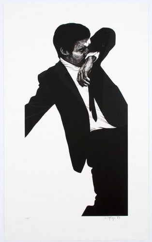 Mark by Robert Longo at