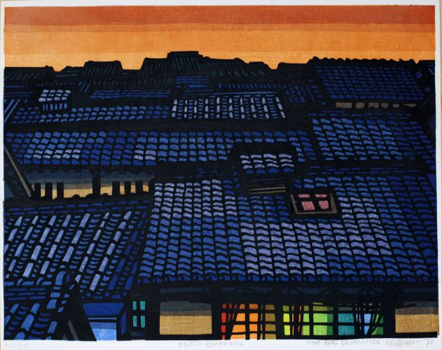 Kyoto Evening by Clifton Karhu at Kamal Bakhshi Modern Asian Art
