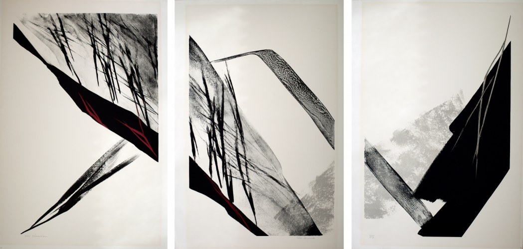 New Dimension (Triptych) by Toko Shinoda at