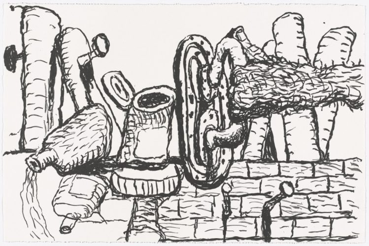 Remains by Philip Guston at