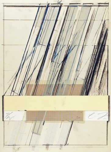 Untitled (from Hommage a Picasso) by Cy Twombly at